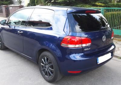 VW GOLF 95% przyciemnienia