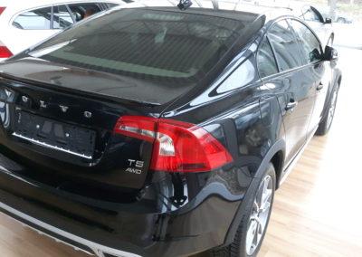 Volvo v60 - 75% stopnia przyciemnienia