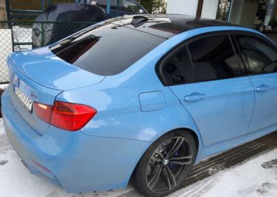 BMW M3 - tył 95%, przód 35%