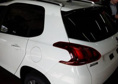 Peugeot 2008 85% przyciemnienia