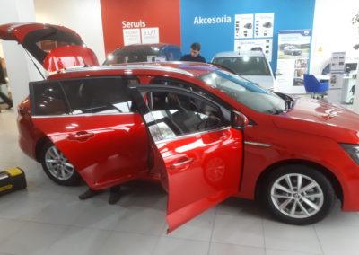 Renault megane combi - 75% przyciemnienia