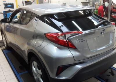 Toyota CHR - 85% przyciemnienia