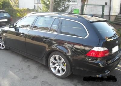 BMW e61 - 75% przyciemnienia