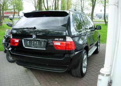 BMW X5 - 85% przyciemnienia