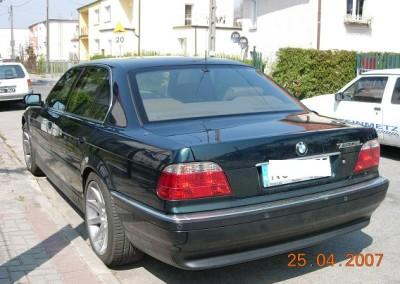 BMW - 50% przyciemnienia