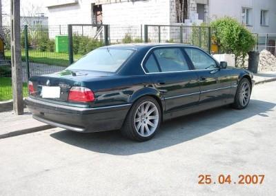 BMW 750l - 65% przyciemnienia