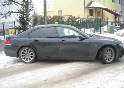 BMW seria 7 - 95% przyciemnienia