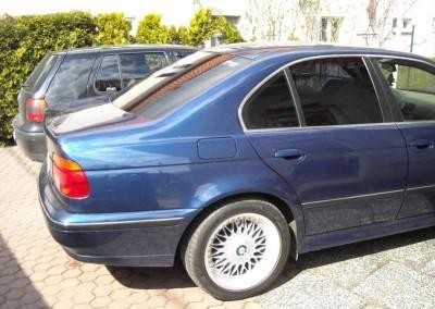 BMW e39 - 80% przyciemnienia