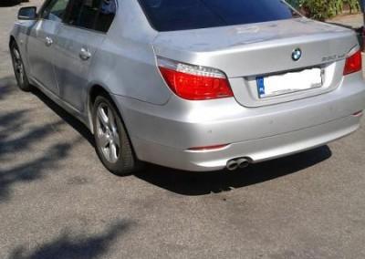 BMW e60 - 85% przyciemnienia