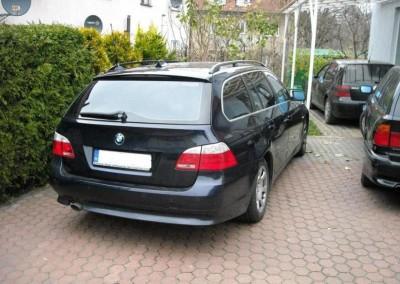 BMW 5 e61 - 95% przyciemnienia