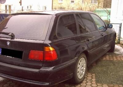 BMW E39, folia ASTRA 20 - 80% przyciemnienia