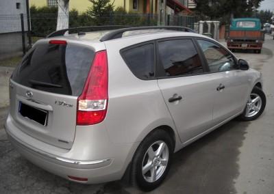 Hyundai i30, folia P5 - 95% przyciemnienia