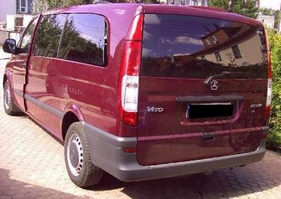 Mercedes VITO, folia G05 - 95% przyciemnienia