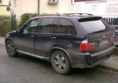 BMW X5 - 95% przyciemnienia