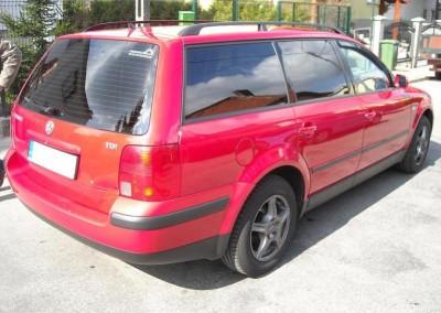 VW PASSAT B5 combi - 85% przyciemnienia