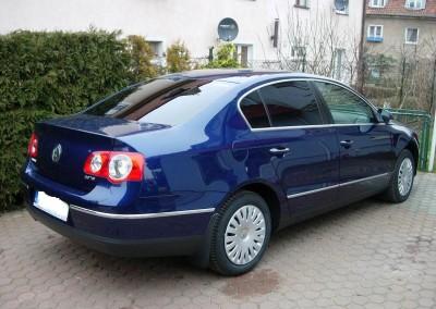 VW PASSAT B6 - 95% przyciemnienia