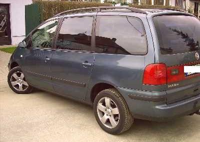 VW SHARAN - 95% przyciemnienia