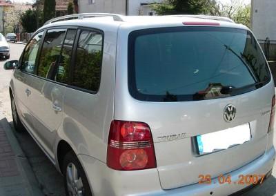 VW TOURAN - 80% przyciemnienia