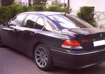 BMW seria 7 - 80% przyciemnienia
