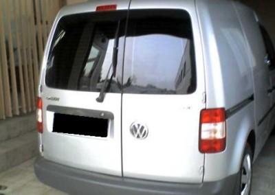 VW CADDY, folia BP5 - 95% przyciemnienia