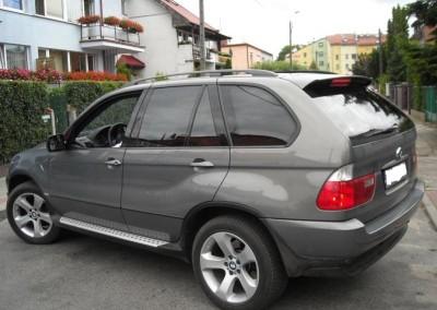 BMW X5 - folia NOWA ASTRA 05 - 95% przyciemnienia