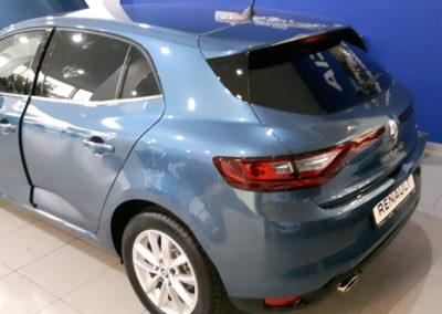 Renault Megane 95% przyciemnienia.