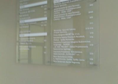 tablica informacyjna ULAFOL