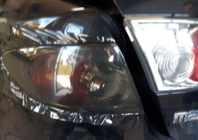 Mazda 6, przyciemnianie lamp