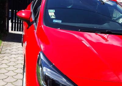 Opel Astra - kompleksowe zabezpieczenie (felgi, hydrofobizacja szyb, lakier oraz wnętrze).